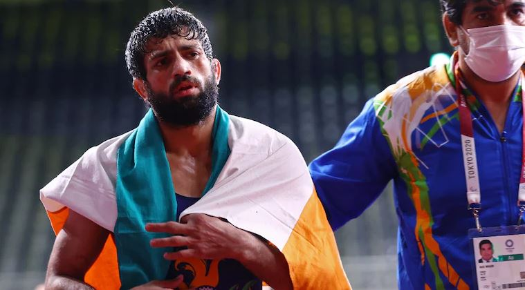 Sports Olympics Ravi Kumar Dahiya Indian Wrestler
